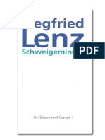 Siegfried Lenz - Schweigeminute