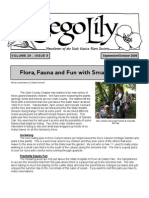 Sep-Oct 2006 Sego Lily Newsletter, Utah Native Plant Society