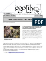 May-June 2006 Sego Lily Newsletter, Utah Native Plant Society