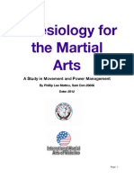 Kinesiology for the Martial Arts PDF