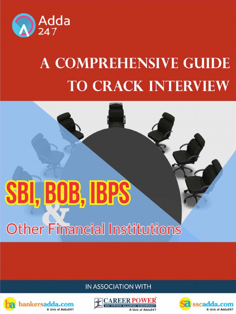 SBI And Other Banks Interview Tips.pdf | Job Interview | Suit (Clothing)
