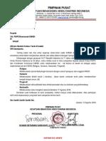 contoh surat Himbauan Hut