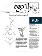 March-April 2009 Sego Lily Newsletter, Utah Native Plant Society