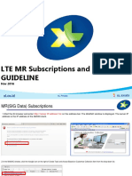 LTE MR Subscribe