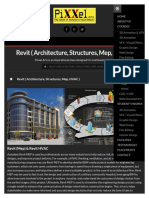 Pixxel Arts Revit Architecture _ Revit Structures _ Revit Mep _ HVAC _ Institute Hyderabad