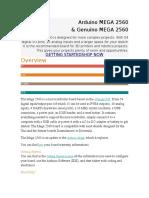 Arduino MEGA 2560 H1