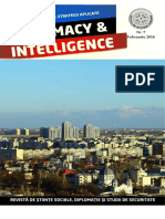 Revista Diplomacy & Intelligence, Nr. 7, Februarie, 2016