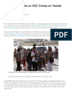 UN Panel Reports on ISIS Crimes on Yezidis _ Human Rights Watch