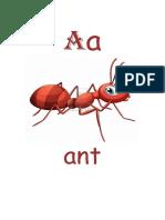 Alphabets With Pics