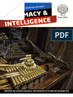 Revista Diplomacy & Intelligence, Nr.8, iulie, 2016