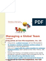Managing Global Team