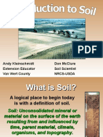 Introduction to Soil