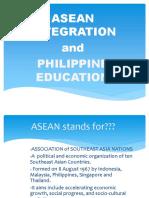 Asean Integration Report