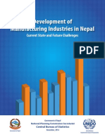 Devlopment of Manufacturing Industries in Nepal