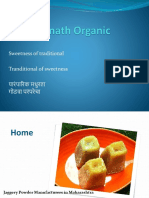 Jaggery Powder Plant in Maharashtra | Sainath Sugar & Agro Pvt Ltd Shirur