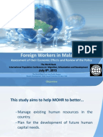 Foreign Workers in Malaysia