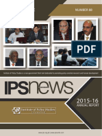 IPS Annual Report 2015-16 (IPS News No. 88)