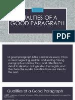 qualitiesofagoodparagraph