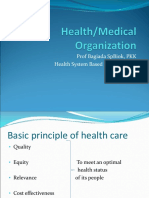 (6) Health Organization in Indonesia