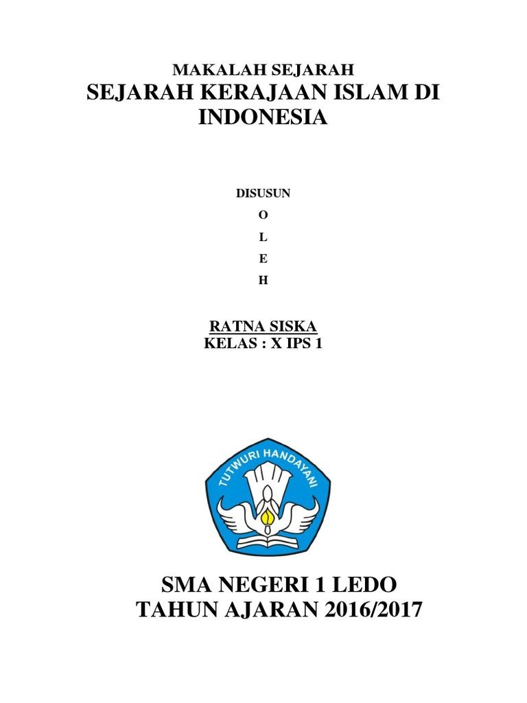 Kliping Sejarah Kerajaan Islam Di Indonesia Guru Paud