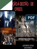 4 a - Introdução à Gestão de Crises No Lazer