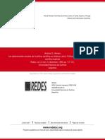 Herrera - Los Determinantes Sociales de La Políticas Cientificas. Lo Implicito y Explicito