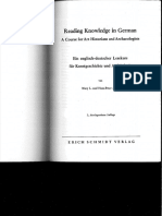 Reading Knowledge in German