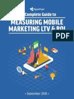 Measuring Mobile Marketing LTV ROI Guide AppsFlyer