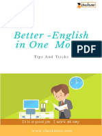 One-month to Better English Checktutor