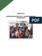 Modulo IV Supervision Educativa Corregido 2