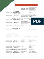 [TRC] Class Schedule (Responses)