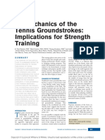 Biomechanics of the Tennis Groundstrokes .5