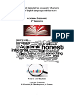 Academic Discourse Reader 2014