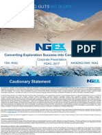 NGEx Resources Corporate Presentation March 2017