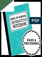 backtoschoolinteractivenotebookfoldablesforrulesproceduresandmore