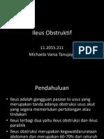 Ileus Obstruktif PPT