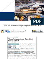 GyanSys Presentation Best Practices for Integrating SAP PLM and PPM