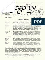 1990 Utah Native Plant Society Annual Compliations
