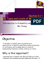 Ppt2 - Levels of Measurement