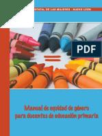 Manual de Equidad de Género para Docentes de Educación Primaria. pdf