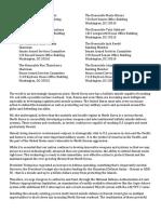Hawaii Coalition Letter