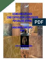Curso Internacional de Geomecanica