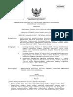Permendagri RI No 111 Tahun 2014