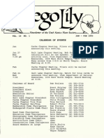 1993 Utah Native Plant Society Annual Compliations