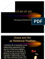 NATURE of SIN Theological Reflection