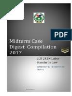 Labor Case digests