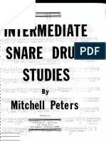 Mitchell Peters - Intermediate Snare Drum Studies (Editado)