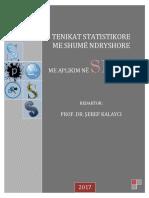 Teknikat Statistikore Me Shumë Ndryshore Me Aplikim Në SPSS