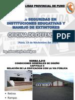 EXPOSICION MEDIDAS DE SEGURIDAD INSTITUCIONES EDUCATIVAS 2013.ppt
