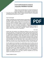 Guia definitivo para padronização de empresa SVA franqueadas PREMIERE TELECOM - NIVEL 1.docx